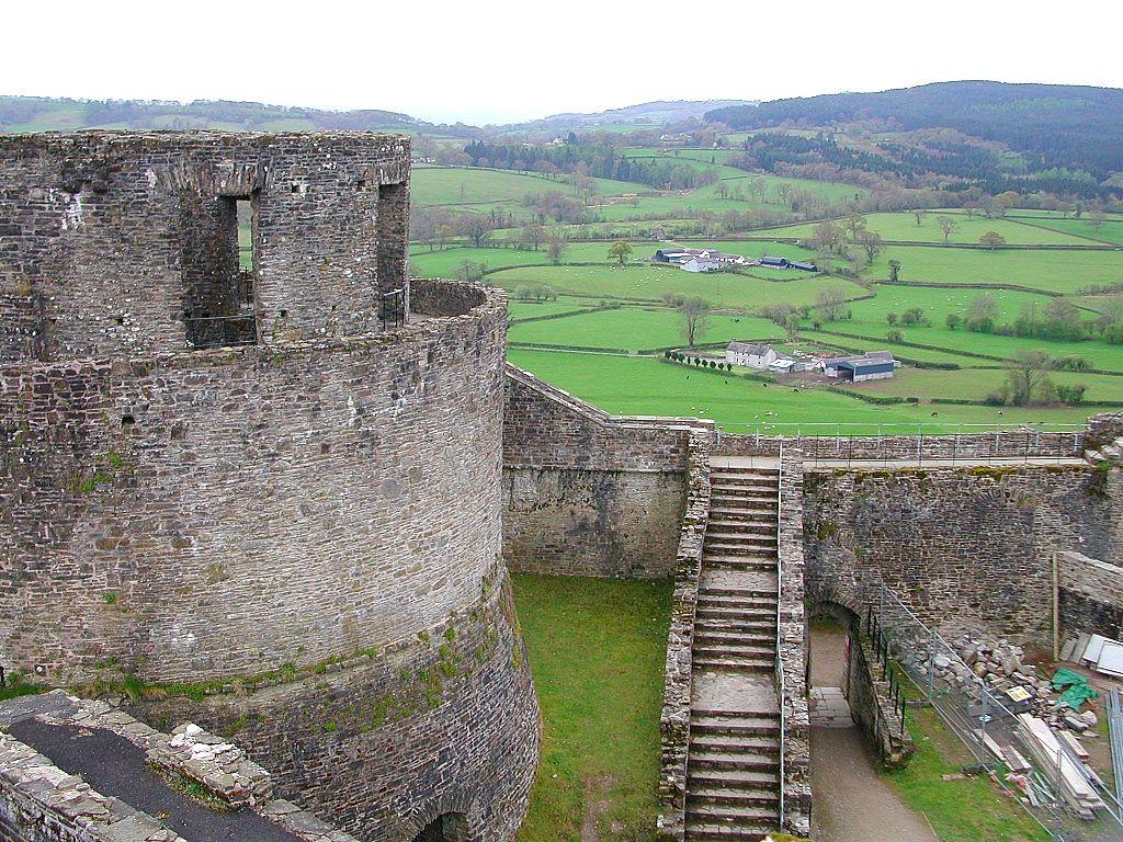 Dinefwr Castle - near Llandeilo, Carmarthenshire, Southwest Wales (visited Aug 2012)