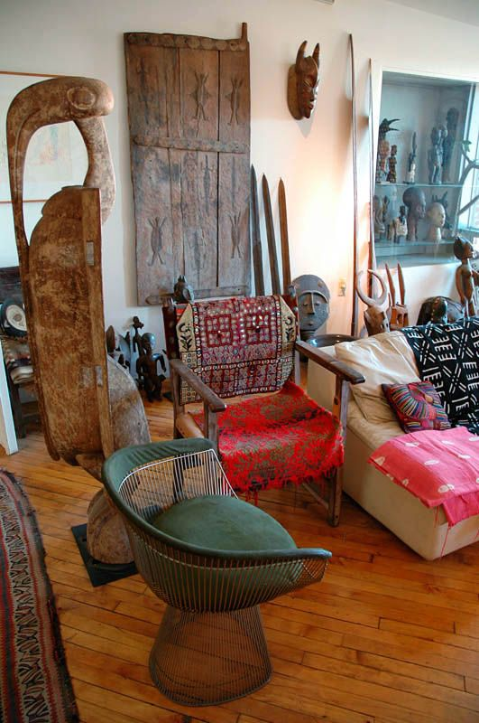 African Art And Artifacts Home Decoration Modern Nomads Ethnic