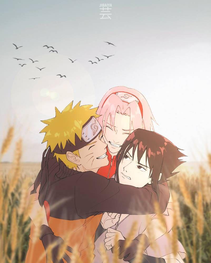 Photo of Naruto X Sakura X Sasuke by jiraiyaart on DeviantArt
