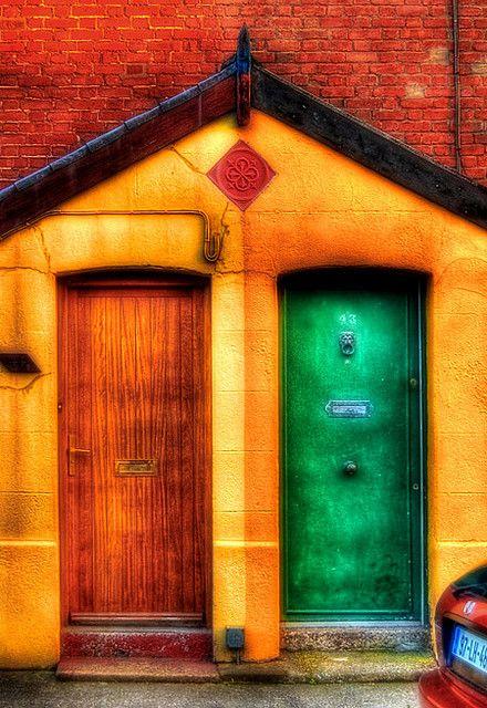 Colourful doors - Phibsborough, Dublin