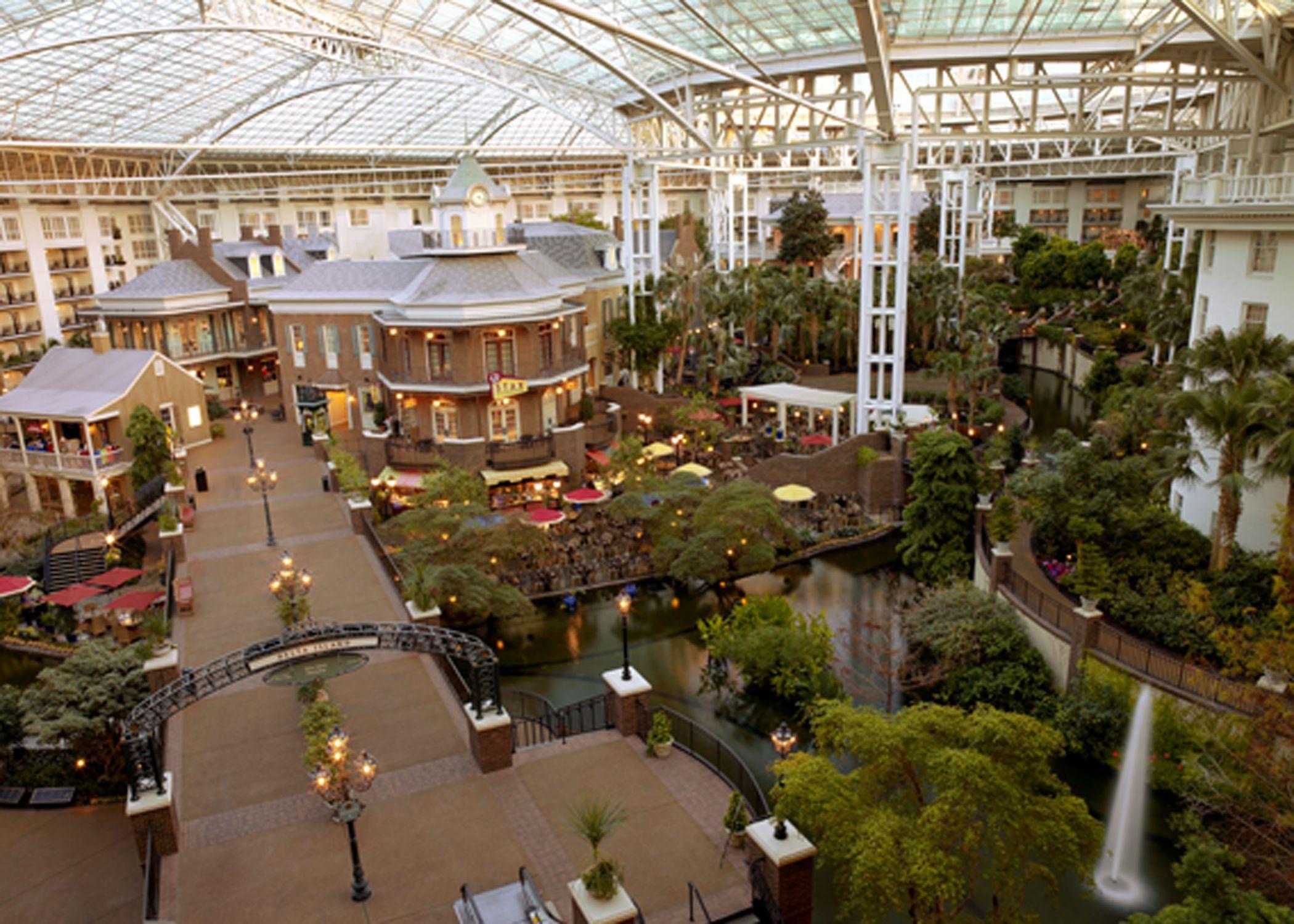 Gaylord Opryland Hotel-nashville Tennesee Indoor Atrium
