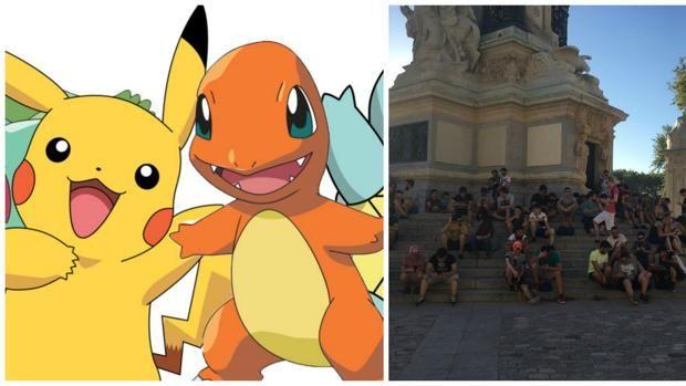 Por qué los buscadores de Pokémon prefieren cazarlos en El Retiro Más información en http://bit.ly/2agWIF4