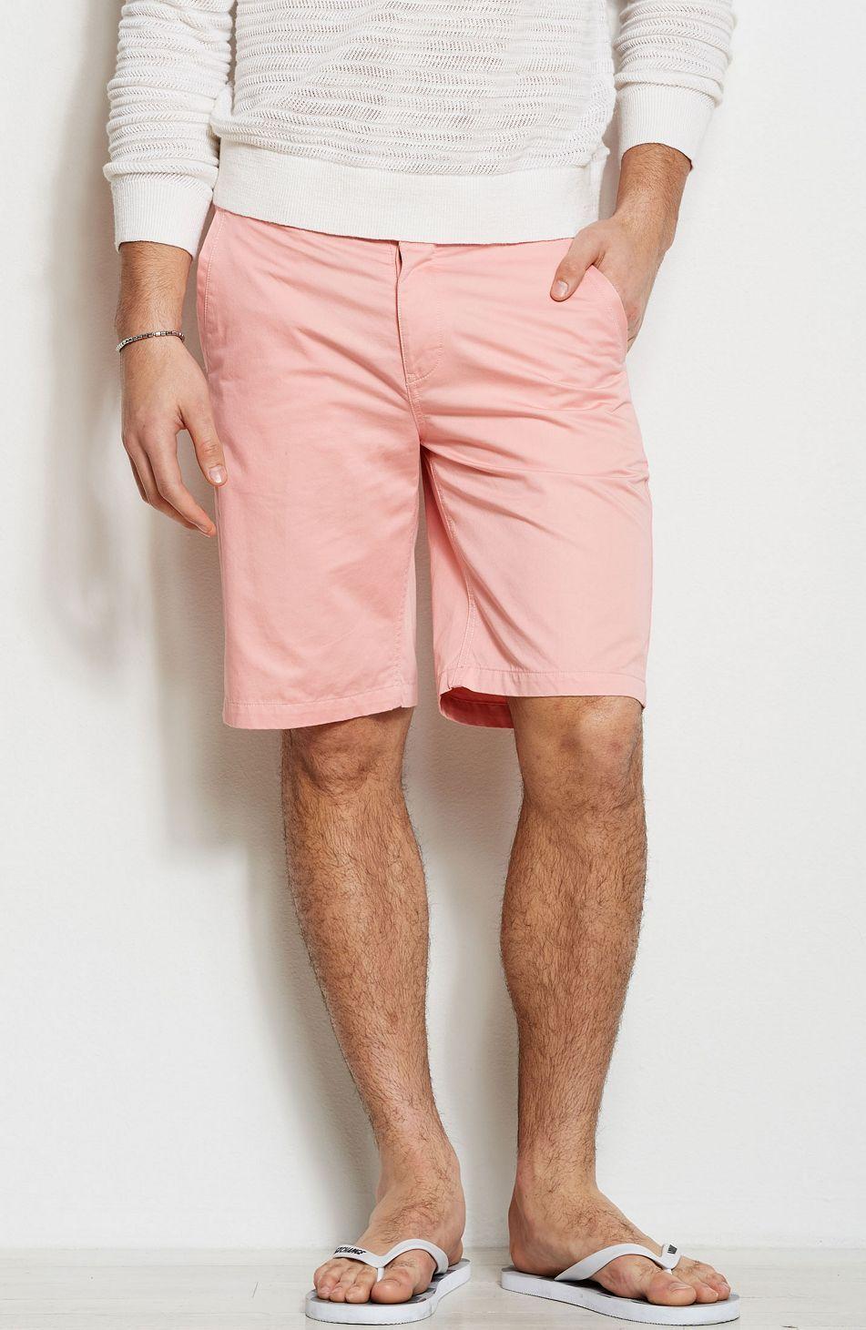 Pink (Chino) Shorts | Personal style | Pinterest