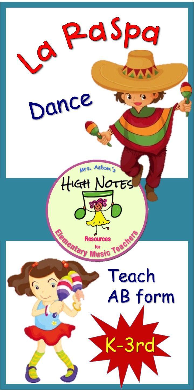 Movement Activity for Elementary Music: La Raspa #danceandmovement