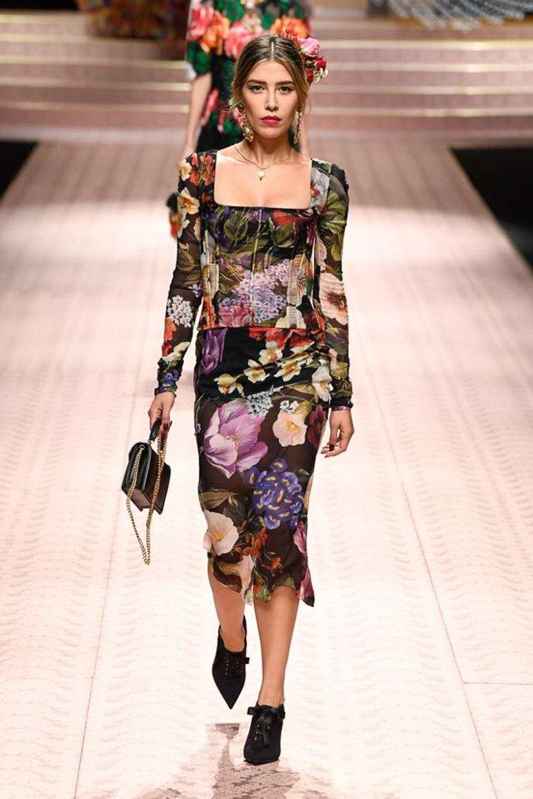 Dolce gabbana 2019 moda 2019 nel 2019 for Ricette per tutti i giorni della settimana