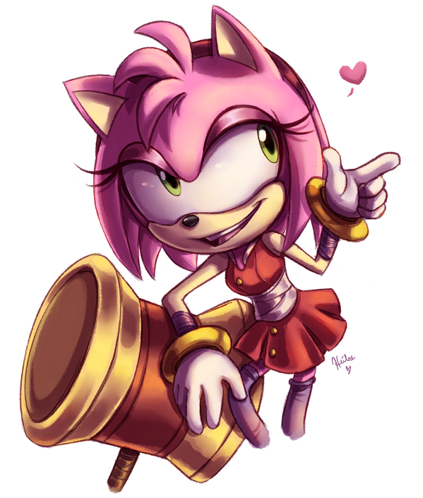 Amy Rose Sonic Boom Amy Rose Amy The Hedgehog Sonic And Amy