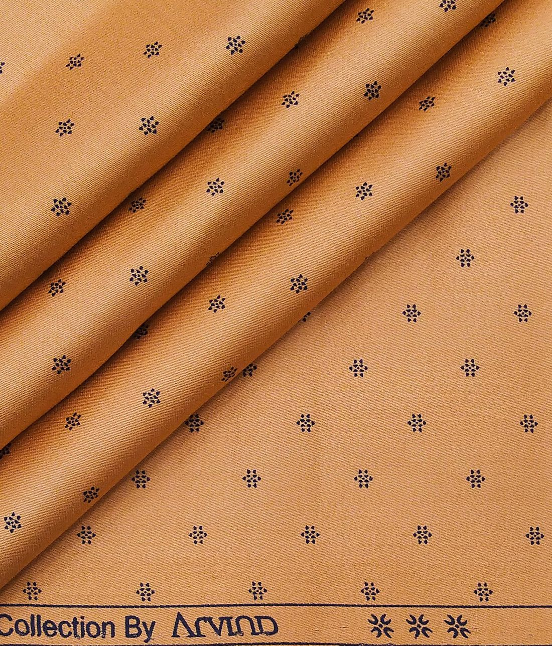 Half Metre Quilting Fabric ~ Long Live Vintage ~ Tiny Check ~ Brown and Yellow