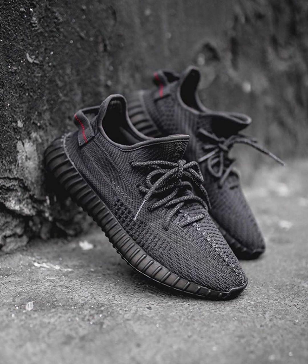 Adidas Yeezy Boost 350 V2 'Static Black