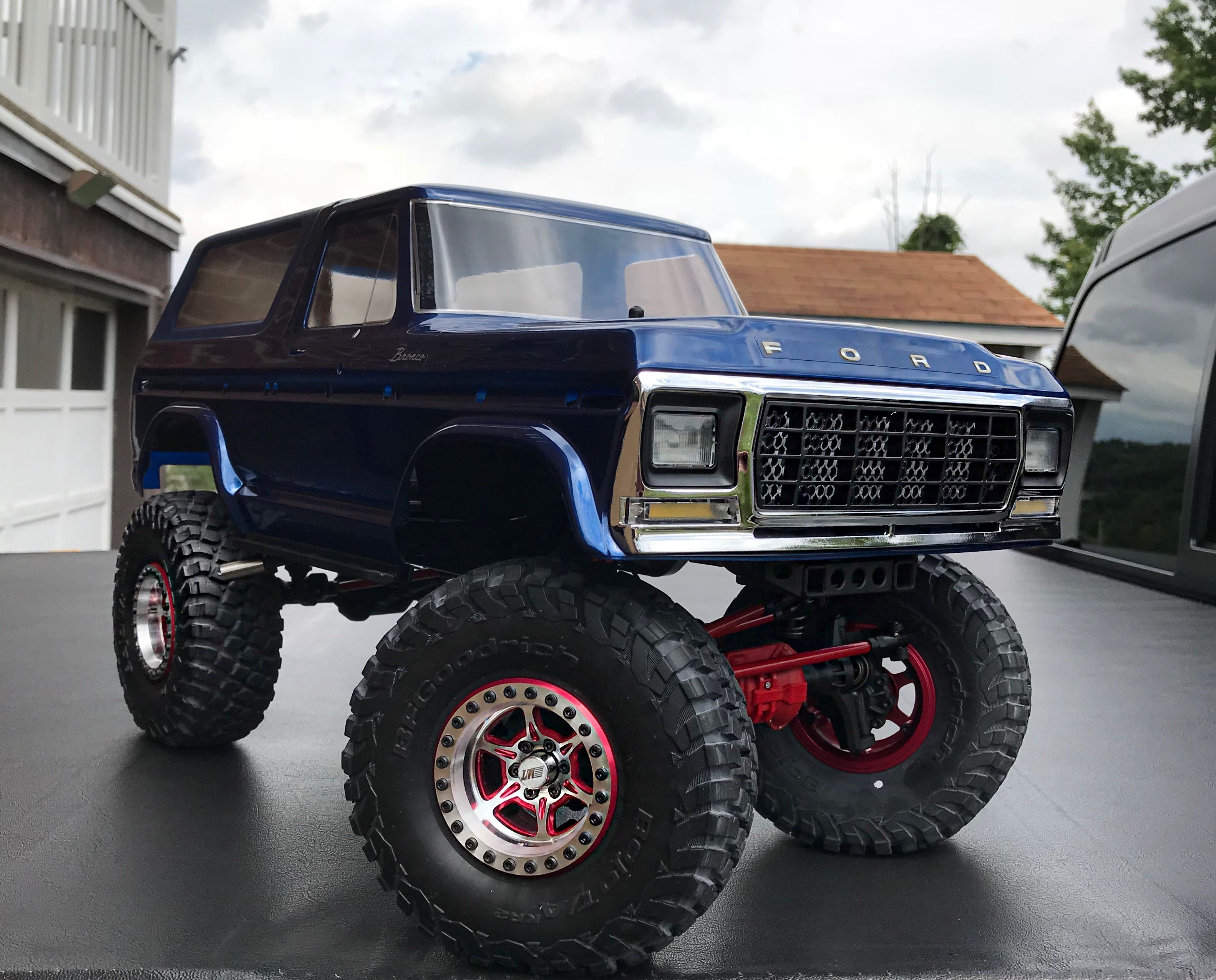 Traxxas TRX4 Bronco | RC'S | Boat radio, Rc trucks, Radio