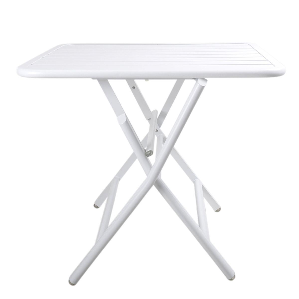 Vespa Folding Table Online Only White Matt Blatt Table
