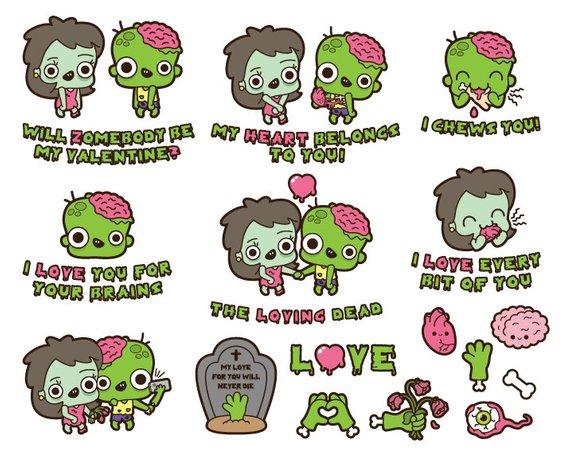 Zombie Clipart Kawaii Zombie Clipart Cute Zombie Clipart Kawaii Halloween Clipart Kawaii Halloween Clip Art Kawaii Valentine Clipart Cute Zombie Zombie Clipart Halloween Clips