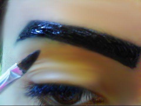 تعليم رسم الحواجب بالحناء فى دقائق Eyebrows Lipstick Beauty