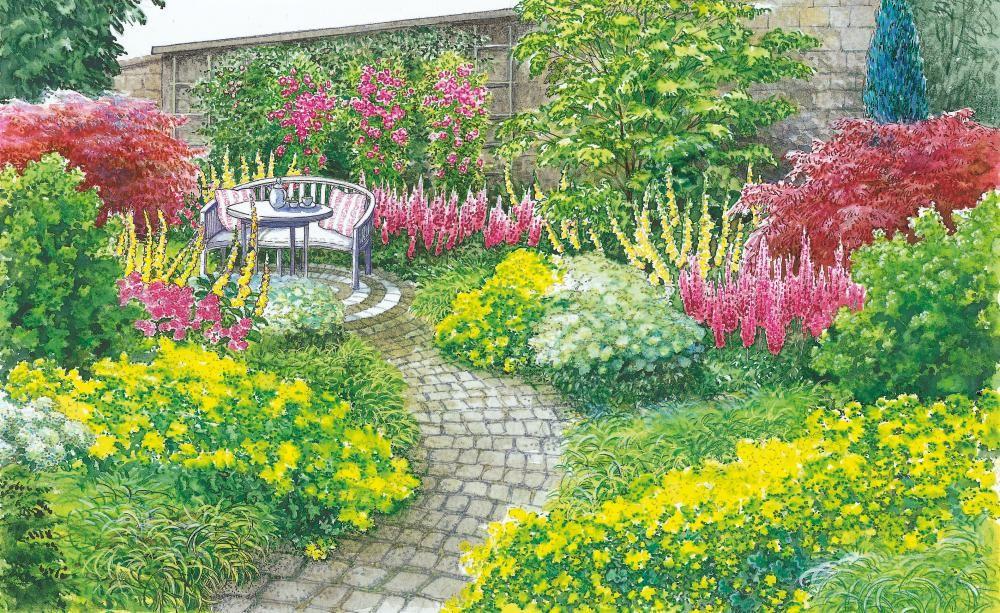1 Garten 2 Ideen Eine Neue Sitzecke Mit Charakter Garten Garten Ideen Gestaltung Vorgarten Sitzecken Garten