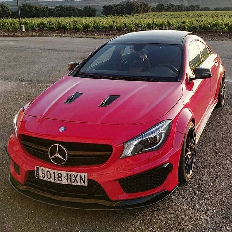 Widebody Kit Atarius Black Line For All Models Of Mercedes Cla