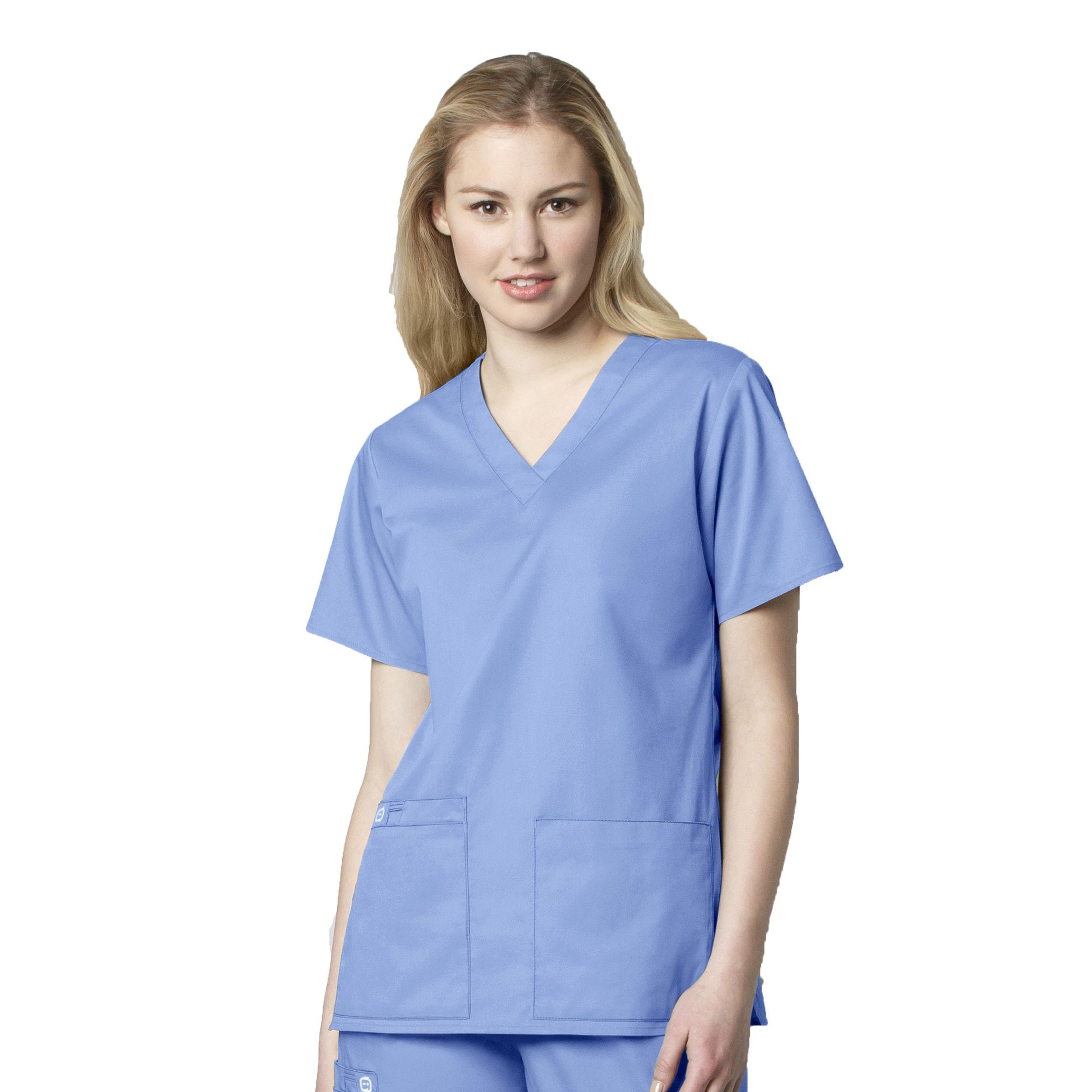 04114df4ce3 V-Neck - 101 | Products | Tops, Womens scrubs, Scrubs uniform