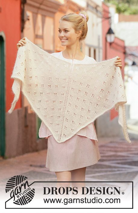 Photo of Ivory Dream / DROPS 201-20 – Kostenlose Strickanleitungen von DROPS Design