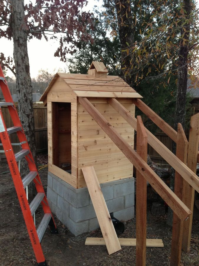 How To Build Your Own Smokehouse...   Smoke house diy ...
