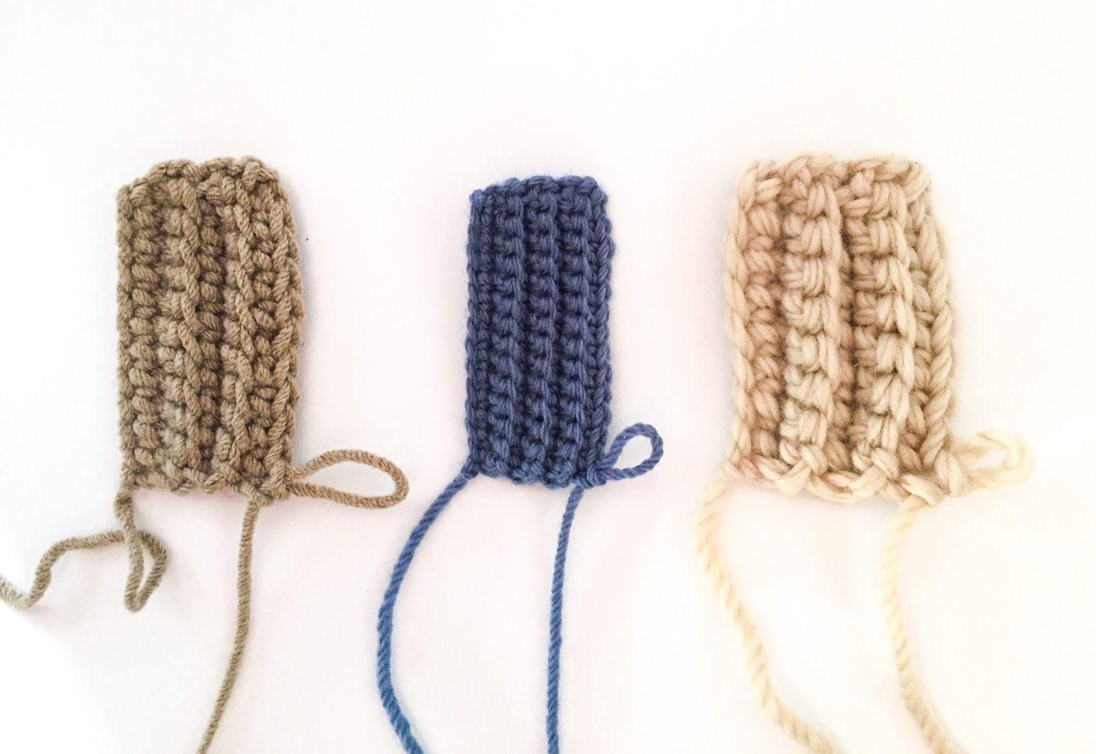 Patrón para tejer unos mitones sencillos | Crochet / Ganchillo ...