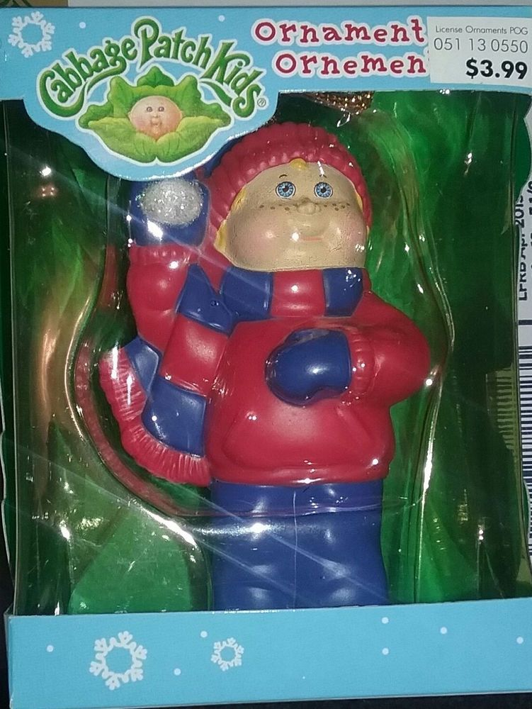 Cabbage patch kids american greetings christmas tree ornament new in cabbage patch kids american greetings christmas tree ornament new in box m4hsunfo Image collections