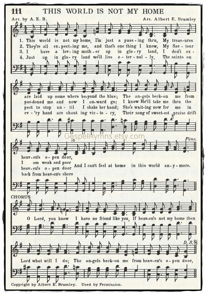 This Is Not My Home Lyrics : lyrics, World, Christian, Lyrics,, Hymns, Music