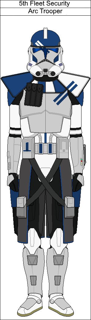 5th Fleet Security Arc Trooper by Suddenlyjam | Tue fighter ...