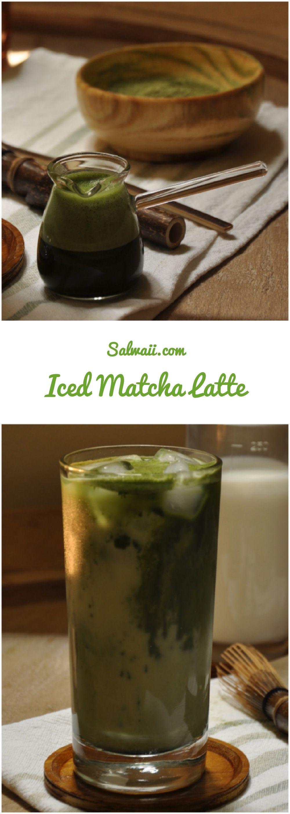 لاتيه الماتشا البارد Iced Matcha Latte Iced Matcha Iced Matcha Latte Matcha Latte