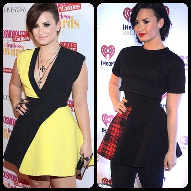 Demi Lovato posta antes e depois e faz balanço de 2014