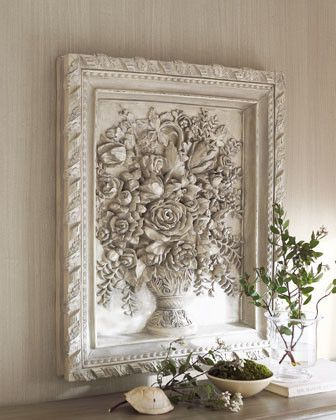 French Bouquet Wall Art - SO in love with this!