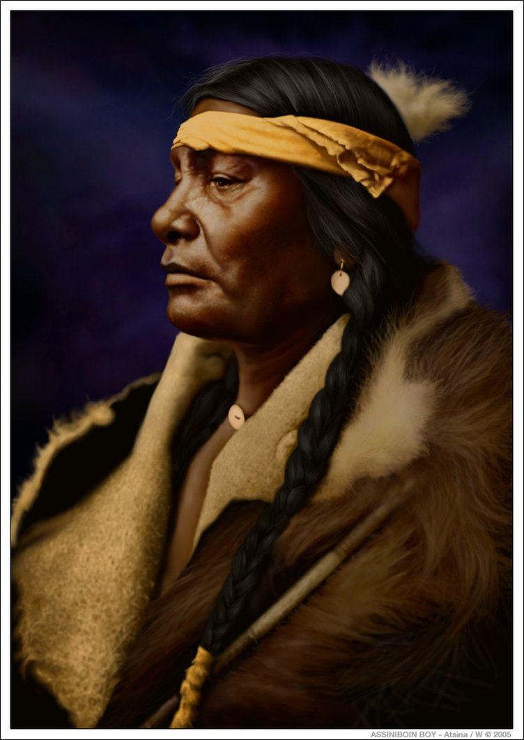 Assiniboin boy atsina by wendelin native people