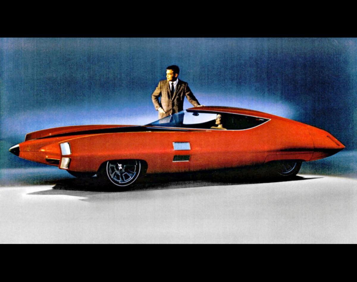 1955 lincoln futura concept - photos - cars of the 'future': concept