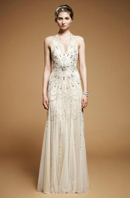 Jenny Packham 2012 Art Deco Inspired Gown Gorgeous Art Deco Wedding Dress Amazing Wedding Dress Deco Wedding Dress