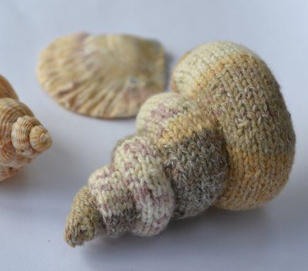 Spiral Shell knitting project by Ginny | LoveKnitting