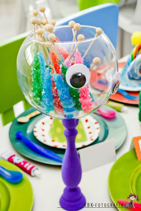 fiesta temtica de monstruos monsters arcos con globos decoracin de fiestas infantiles