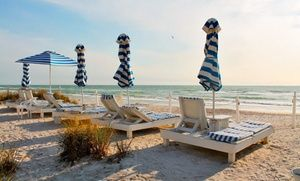 Groupon 3 Or 5 Night Stay For Two At Bungalow Beach Resort On Anna Maria Island Fl In Bradenton Deal Price 399