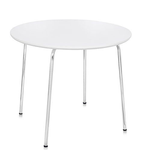 Birdrock Home Childrens Table White Round Table Kids Playroom