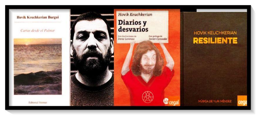 Hovik Keuchkerian, el actor, el exboxeador, el escritor y el poeta. - http://www.actualidadliteratura.com/hovik-keuchkerian-poeta-escritor/
