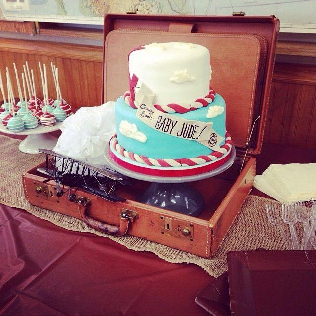 Vintage Airplane Birthday Party Airplane Baby Shower: Vintage Airplane Cake At NashvilleSweets.com