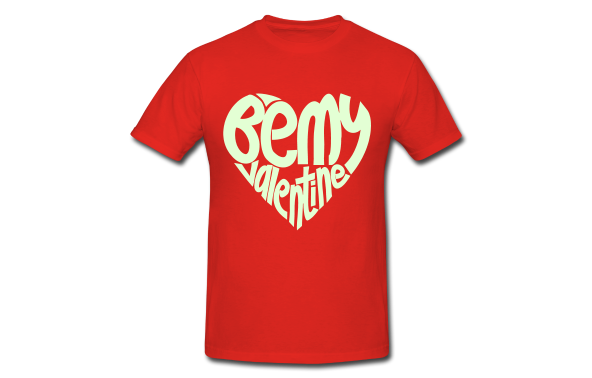 T Shirt Printing And Design Ideas For A British Valentine S Day
