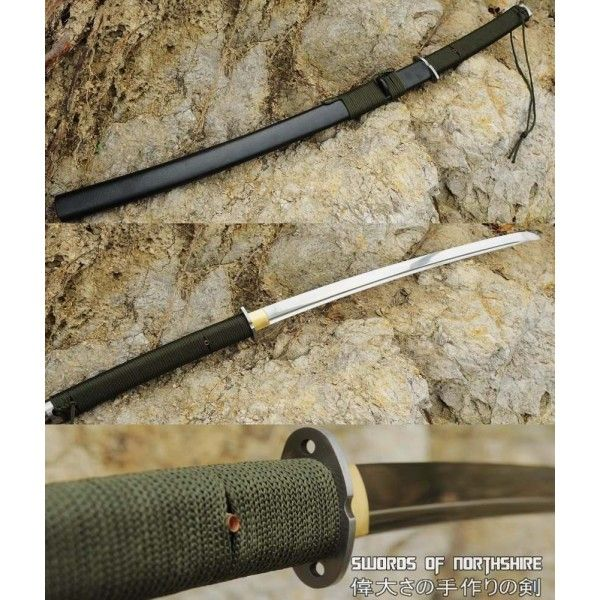 This Sword Is Specially Designed For Outdoor Survival Plain But Functional The Blade Is Made Of 1095 High Carbon Stee Tactical Swords Outdoor Survival Katana
