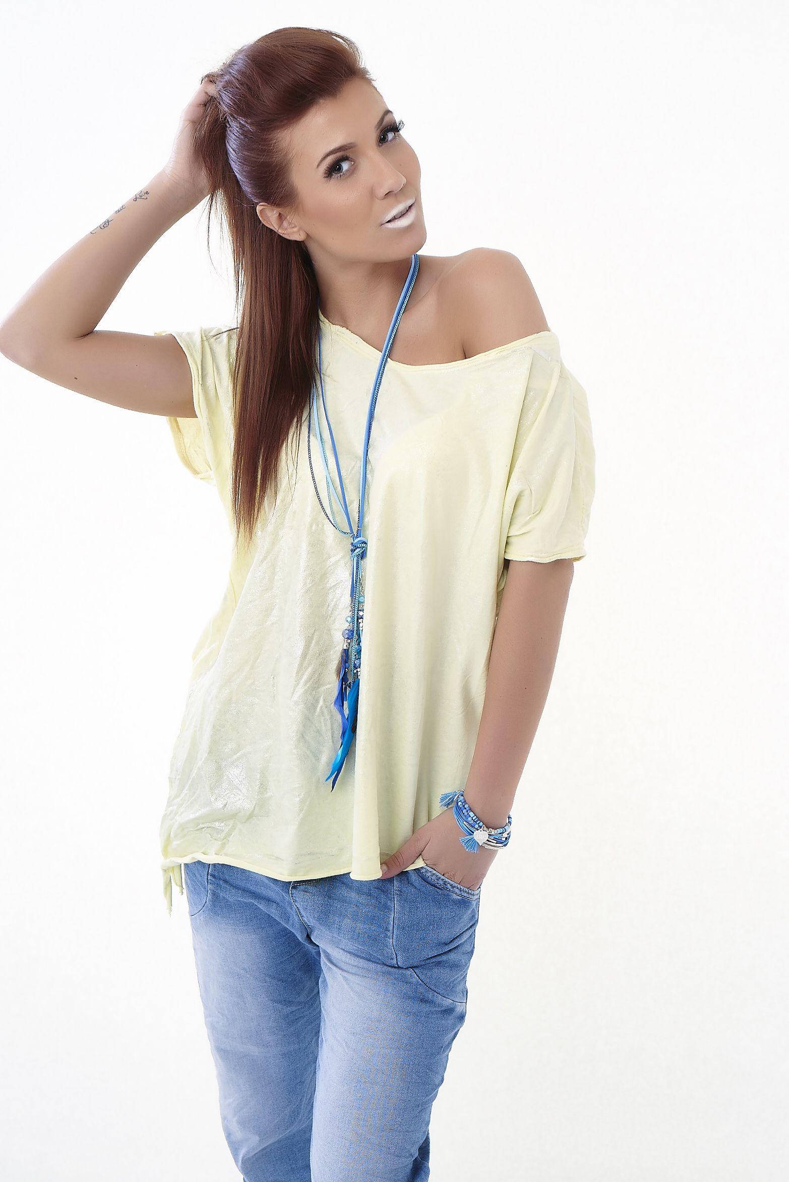 Eros Collection printemps/été 2015 #EROSCOLLECTION #PP15 #SS15 #style #fresh #spring #printemps #detail #jeans #top #style #belle #rebelle #rock #love #quote #colors #jaune #yellow #totallook