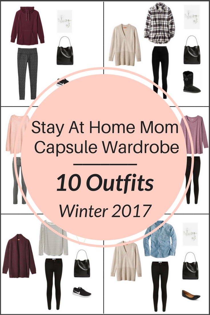 """aeee062ebfd97 Create a """"Stay At Home Mom"""" Winter capsule wardrobe on a budget! This post  is a preview of the E-Book, The Stay At Home Mom Capsule Wardrobe: Winter  2017 ..."""