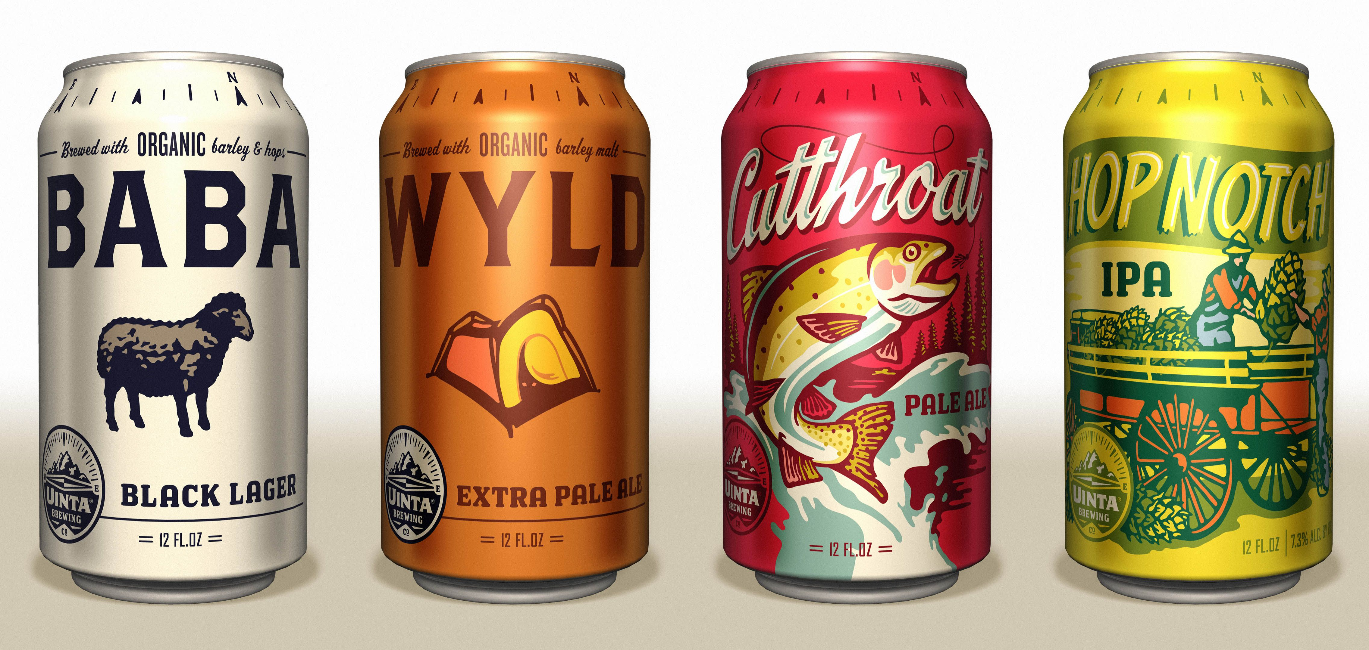 20 Cool Beer Cans A Beer Can Packaging Collection Art Design
