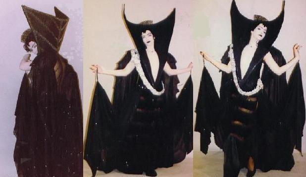 Legend black dress dance costume