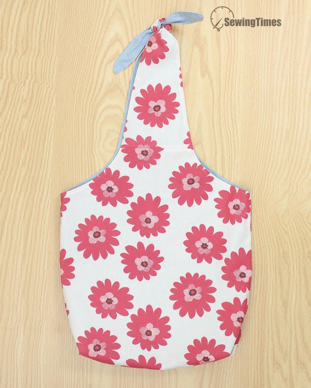 Photo of DIY EASY TOTE BAG [sewingtimes]
