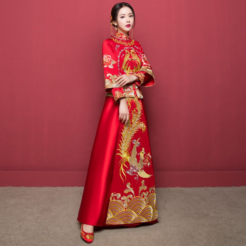 Chinese Traditional Style Wedding Dress 05 | Cosplay cổ trang ...