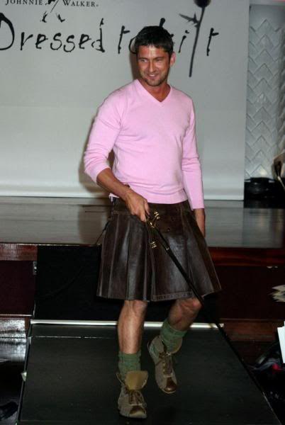 Gerard in a Kilt!