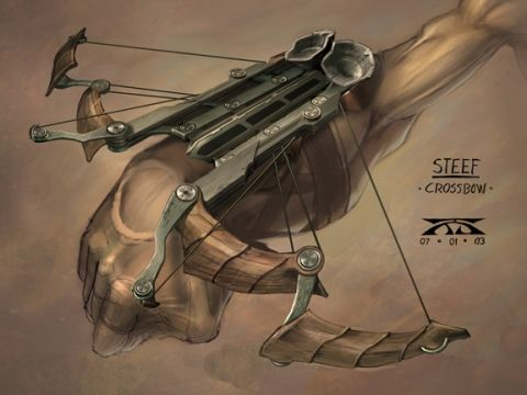 Fantasy Crossbow Concept Art