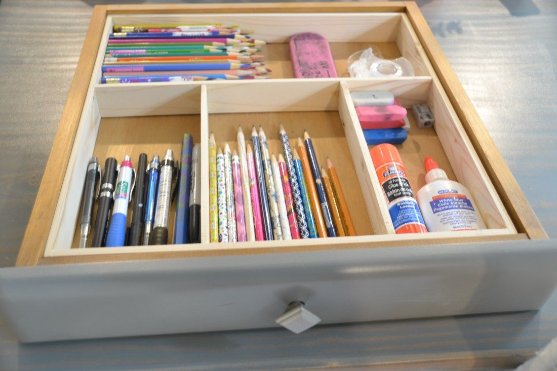 Free And Easy Drawer Dividers Diy Drawer Dividers Drawer
