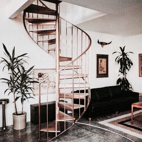 Treppe, Fenster, Einrichtung, Wohnzimmer, Wendeltreppen, Scheunen Häuser,  Kleine Häuser, Dachgeschosse, Maisonette Wohnung