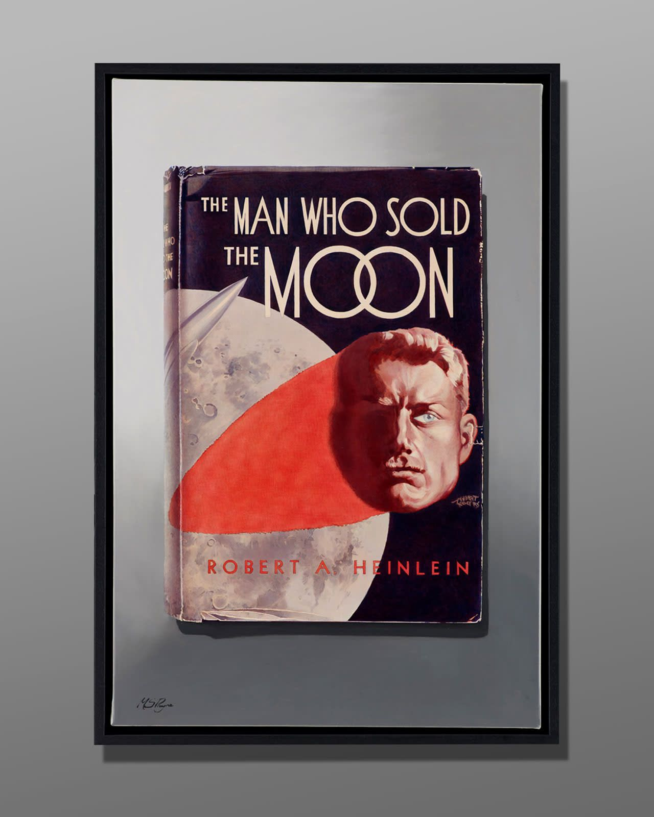 Artwork name man who sold the moon artist mark payne